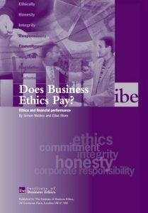 Does Business Ethics Pay